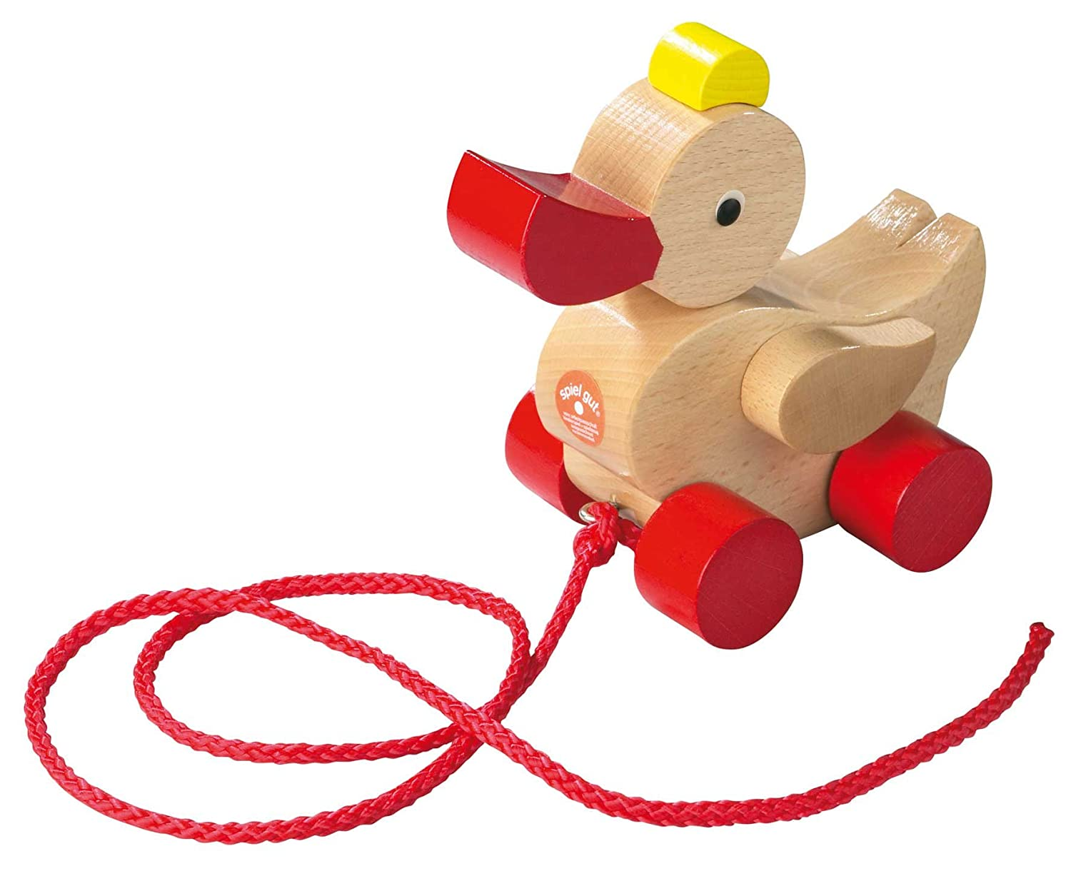 Haba Classic Duck Pull Toy A Nostalgic Wooden Toddler Toy Made in Germany