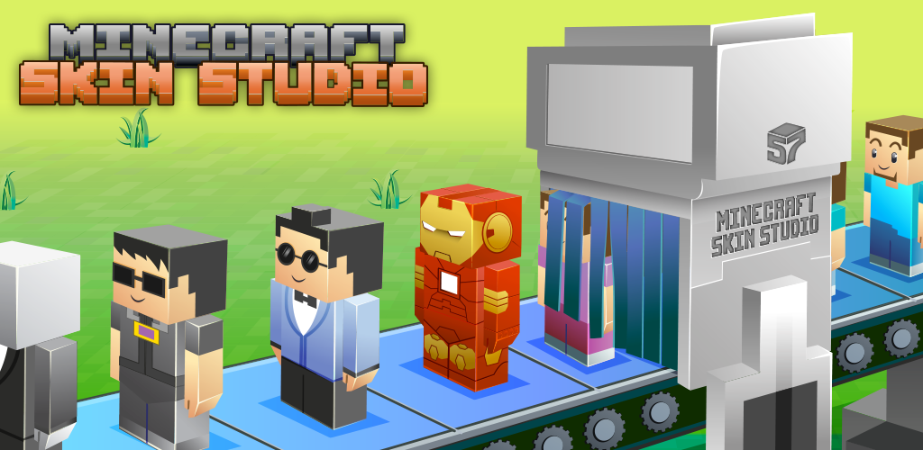 Amazoncom Minecraft Skin Studio Appstore For Android - Skins para minecraft pe yugioh