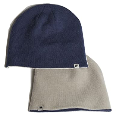 new products dad89 90977 switzerland travis mathew mens reversible homan beanie micro chip 47c55  c591a