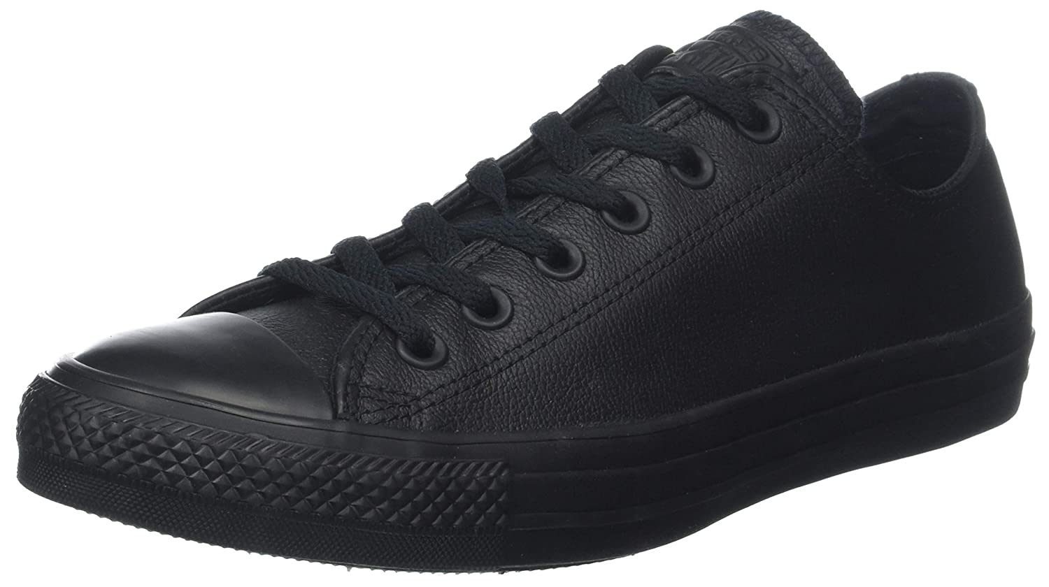 converse leather low
