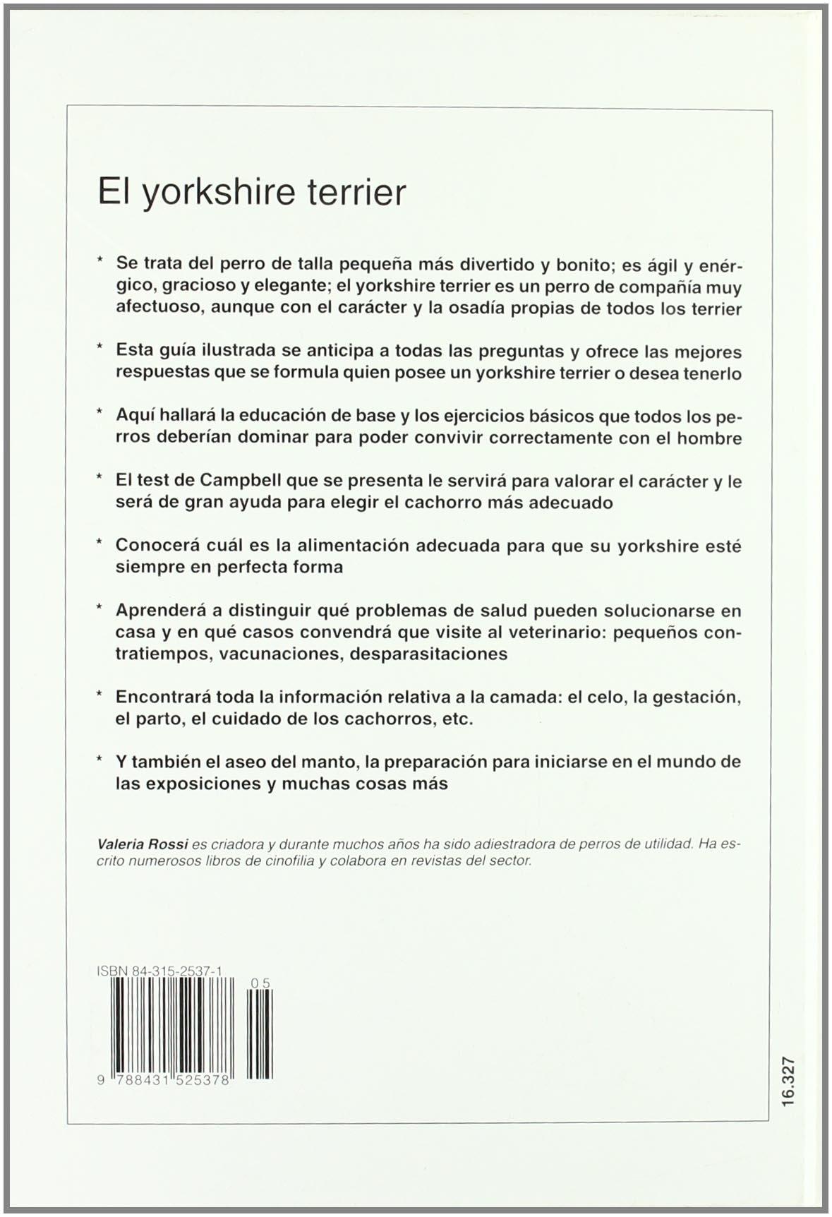 Yorkshire terrier, el (Perros De Raza (de Vecchi)): Amazon.es: P. Pesce: Libros