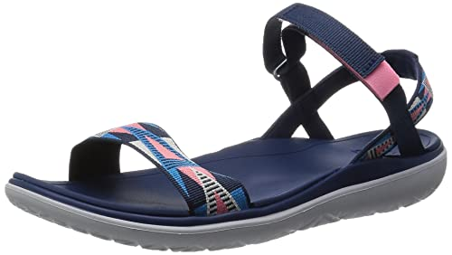 finest selection 7c54b 3f823 Teva Damen W Terra-Float Nova Sandalen, blau, Doubt