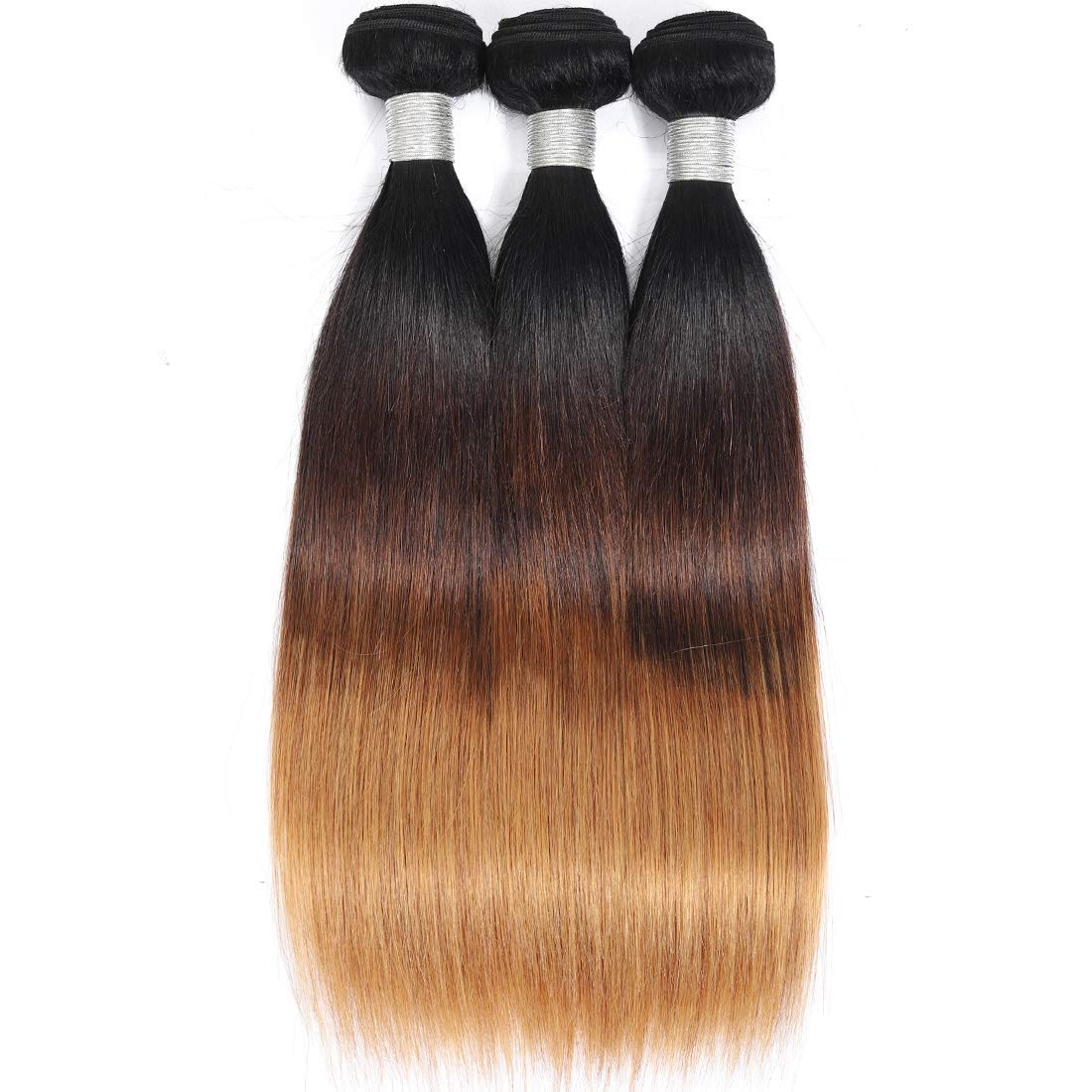 AUTTO Hair New popularity Brazilian Virgin Straight Ombre 18 Direct sale of manufacturer 16 3 20inch B