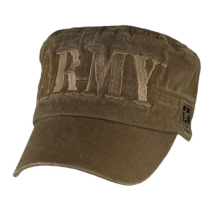 ad6db9e02e3 Amazon.com  U.S. ARMY Flat Top Hat