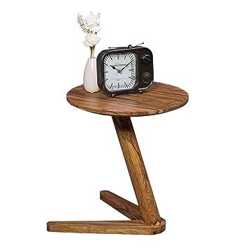 Wohnling Beistelltisch Massiv Holz Sheesham Design Wohnzimmer Tisch
