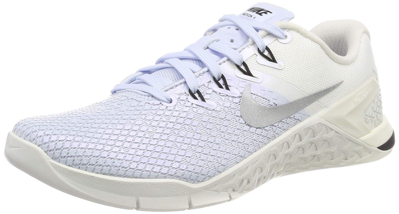 MultiCouleure (Half bleu Metallic argent Sail noir 400) Nike Metcon 4 Xd Metallic, Chaussures de Fitness Femme 41 EU