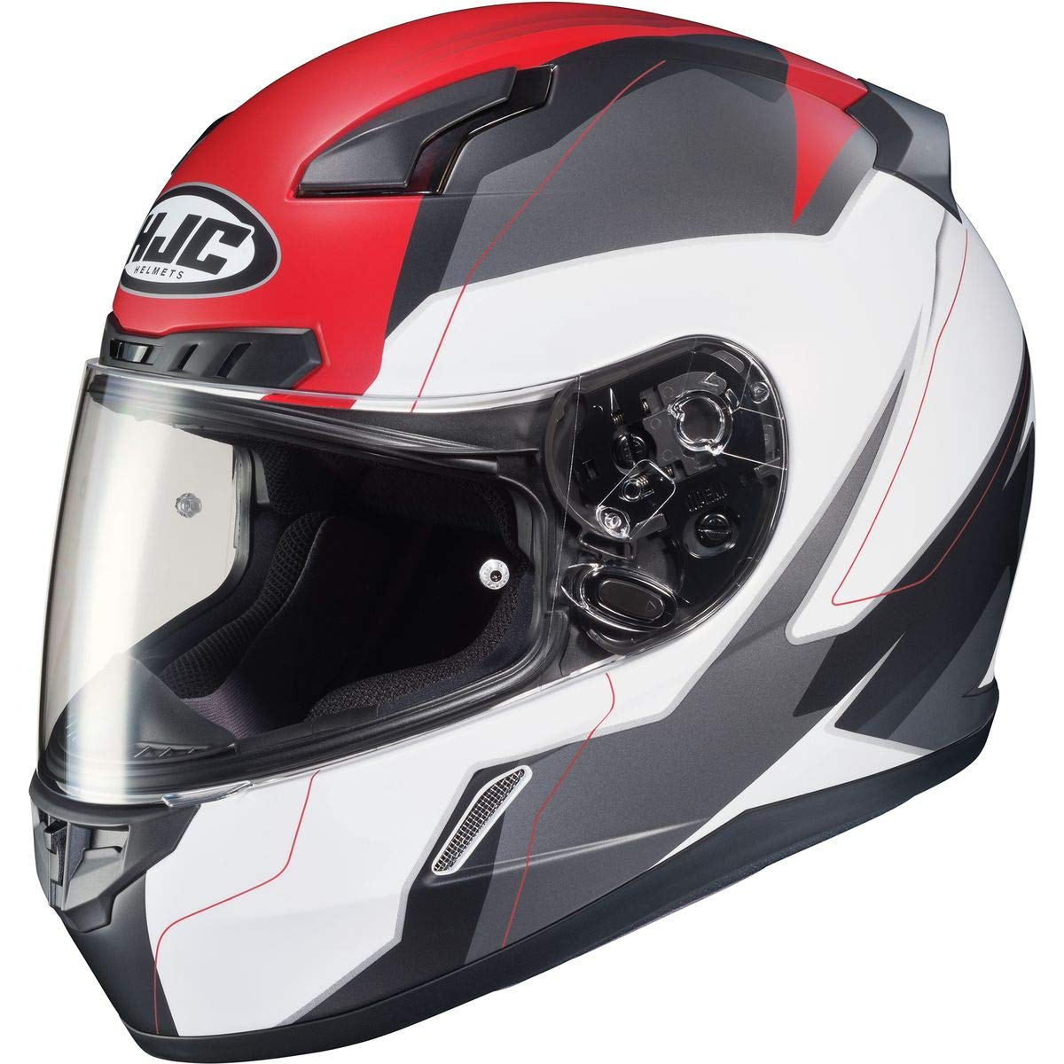 White//Pink Omni HJC CL-17 Helmet Large