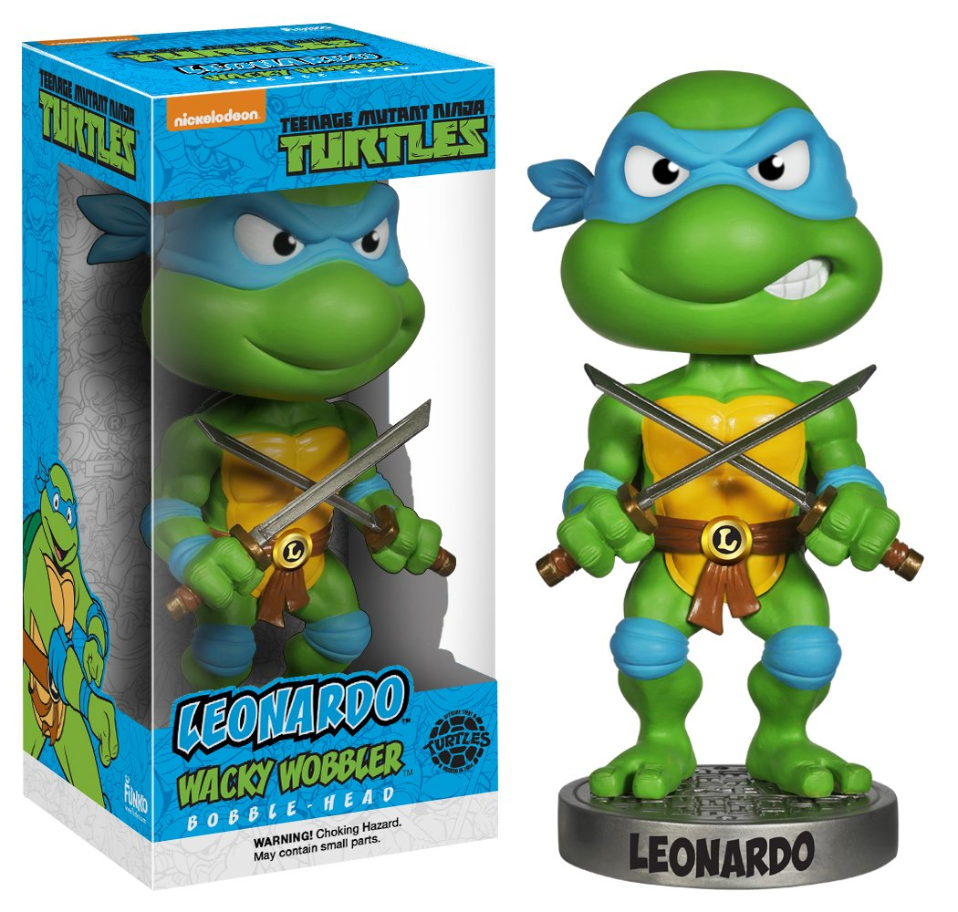 Funko Action Figure Teenage Mutant Ninja Turtles Leonardo Wacky Wobbler