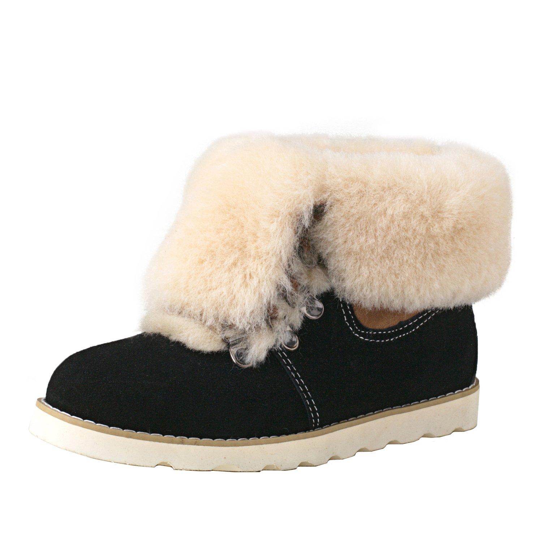 Shenduo Hochwertige D9158 Stiefel Winter Gefüttert Warm
