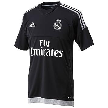 Adidas 1ª Equipación Real Madrid CF 2015/2016 - Camiseta Oficial, Talla L: Amazon.es: Deportes y aire libre