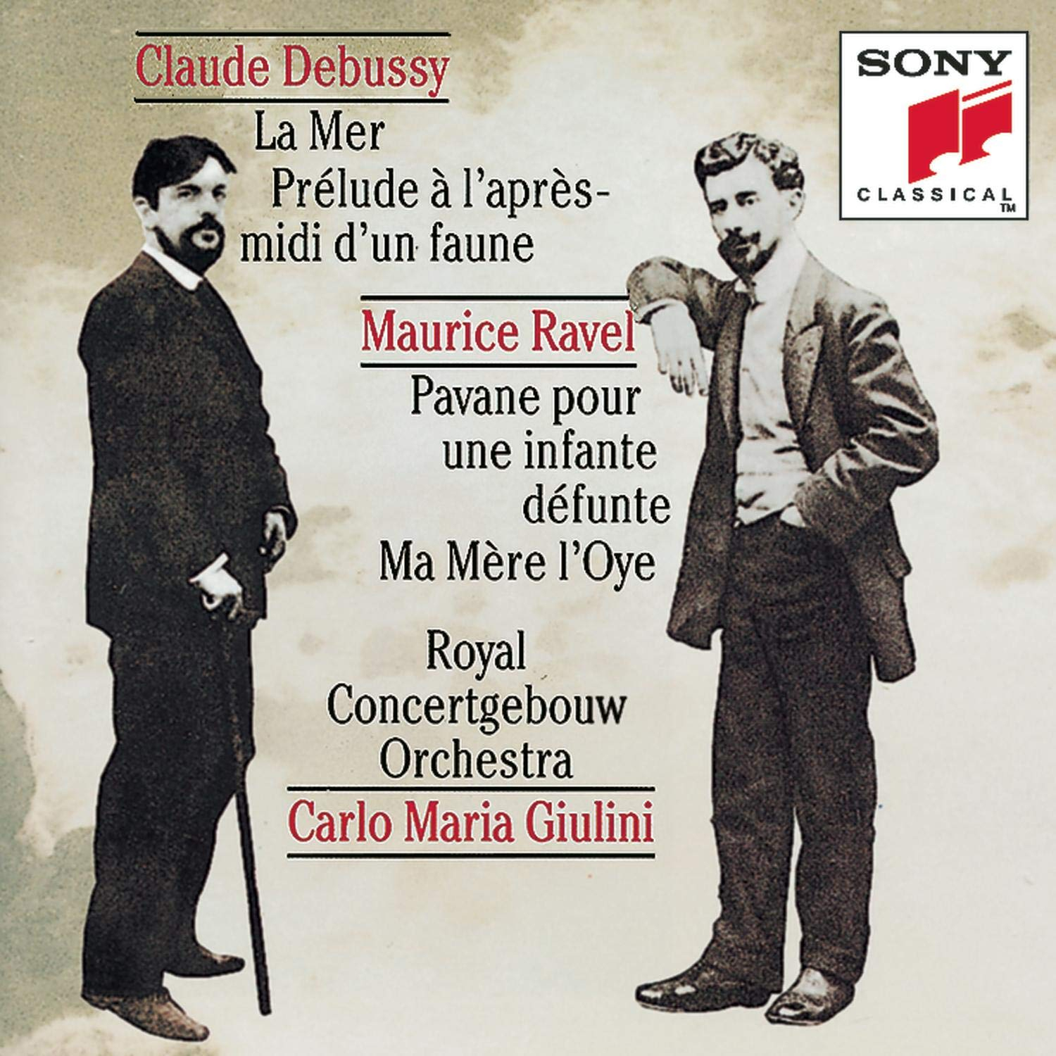 Debussy and Ravel: Orchestral Works by Sony Classical