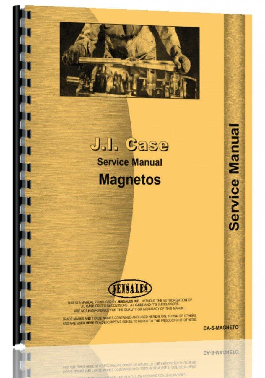 Case American Bosch Magneto Service Manual ebook