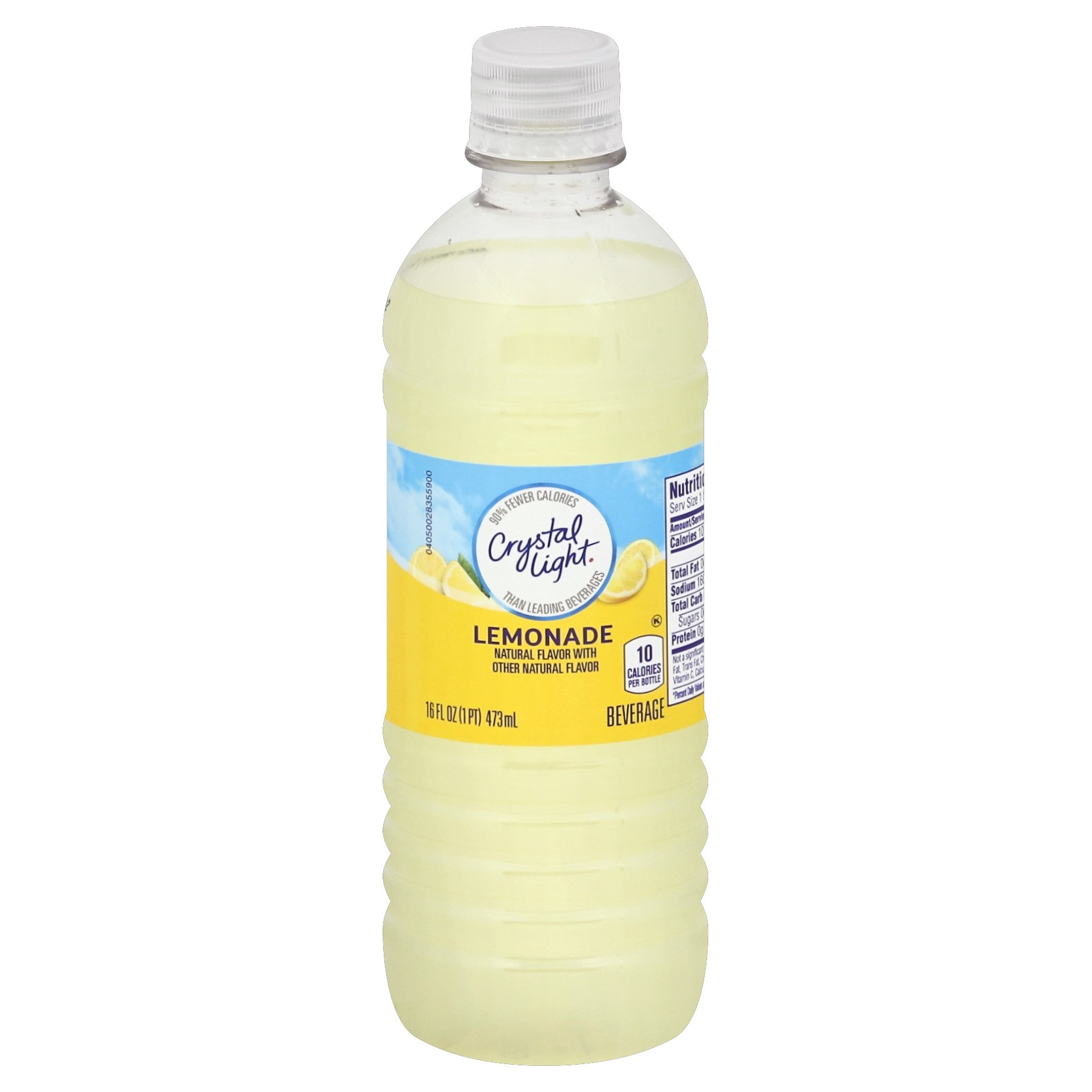 Crystal Light Ready to Drink Lemonade (16 oz Bottle, Pack of 24) by Crystal Light