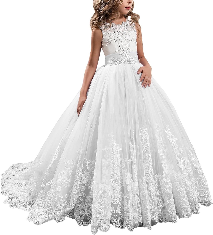 long lace flower girl dresses off 18   medpharmres.com