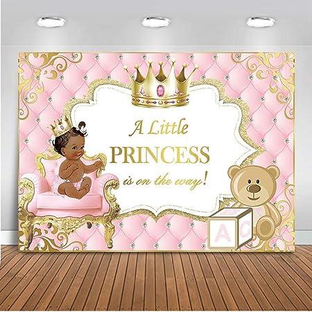 Mehofoto Prinzessinnen Banner Für Baby Party 7 X 5 M Kamera