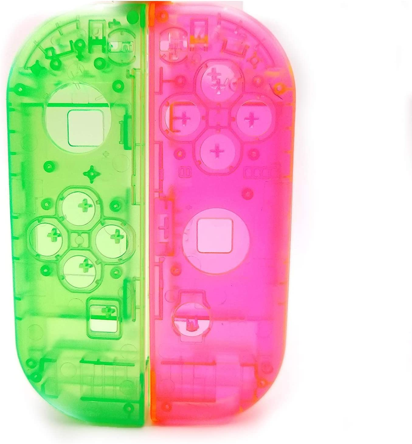 Carcasa de Repuesto para Mando de Nintendo Switch Joy-con (Verde ...