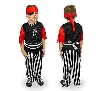 MWS 537400 Disfraz para carnaval motivo PIRATA (3 a 12 años) - 9 ...