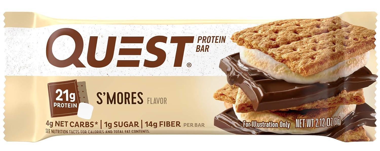 Quest Nutrition Protein Bar Birthday Cake 21g 5g Net Carbs 180 Cals 21oz