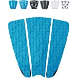 Ho Stevie! Premium Surfboard Traction Pad [Choose Color] 3 Piece, Full Size, Maximum Grip, 3M Adhesive, for Surfing or…
