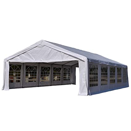 Outsunny 32u0027 x 20u0027 Heavy Duty Outdoor Party Tent / Carport - White  sc 1 st  Amazon.com & Amazon.com : Outsunny 32u0027 x 20u0027 Heavy Duty Outdoor Party Tent ...