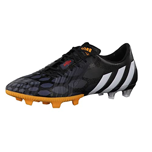 Predator Instinct LZ TRX FG Football Boots Black White Gold  Amazon ... 33846859aa