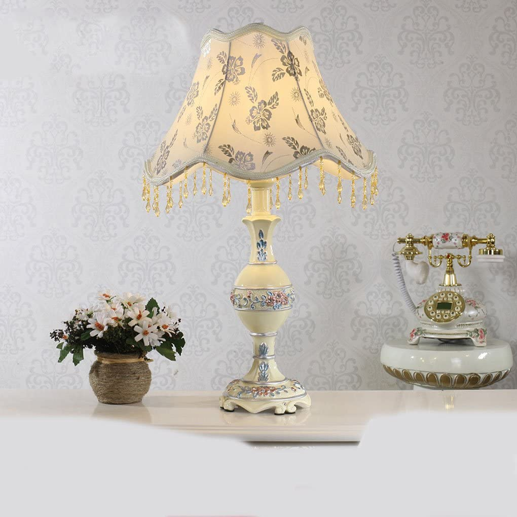 LHP Lamparas de Estilo Europeo, lampara de Salon Dormitorio Estudio Jardin lampara lampara lampara velador luz Calida Ahorro de energía: Amazon.es: Hogar