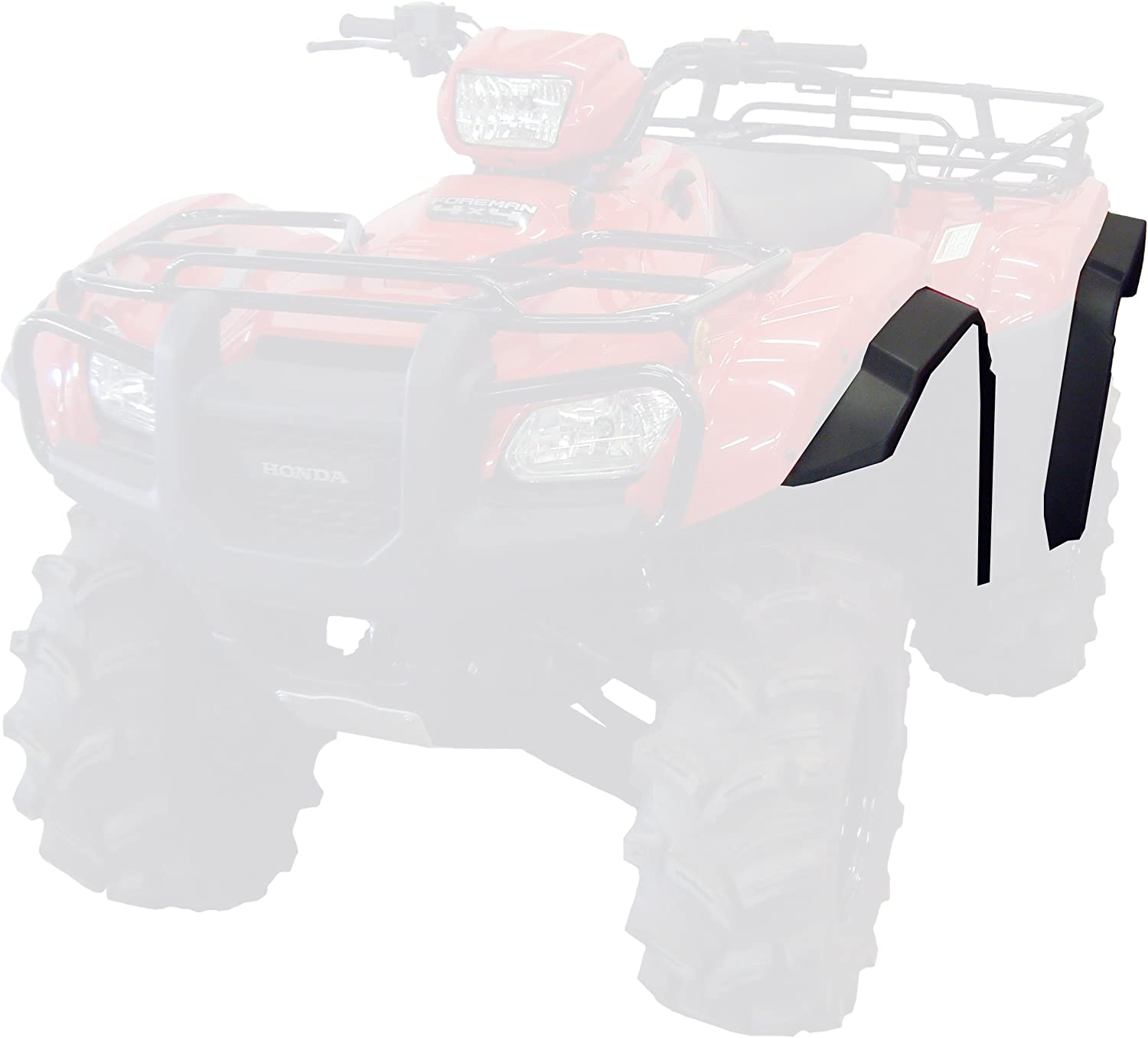 Maier 4952530 Red Fender Flares for Polaris Ranger RZR