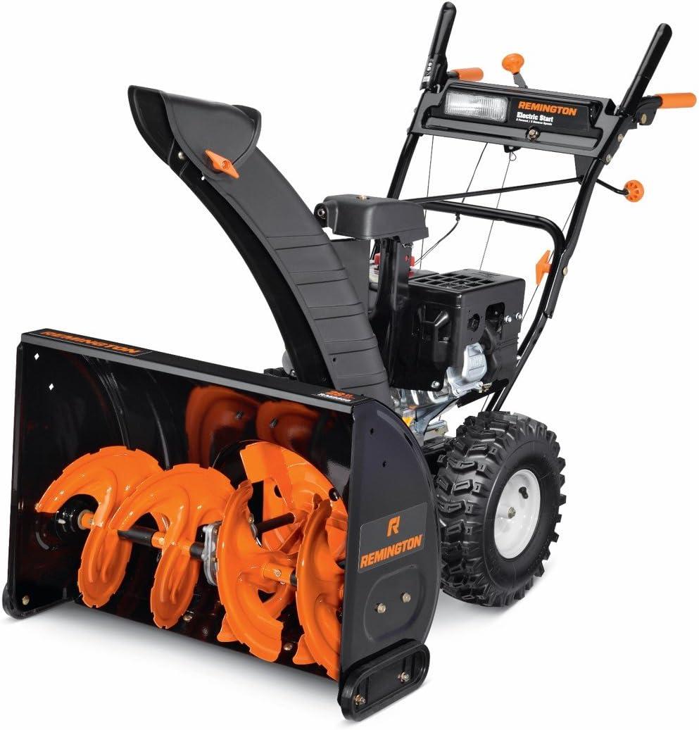 "Snow Blower, 28""/243cc, Black/Orange"