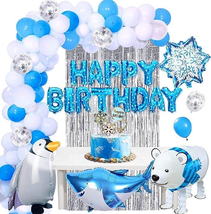 XL Pinguin Helium Folienballon Geburtstag Geschenk Baby Party Madagascar balloon