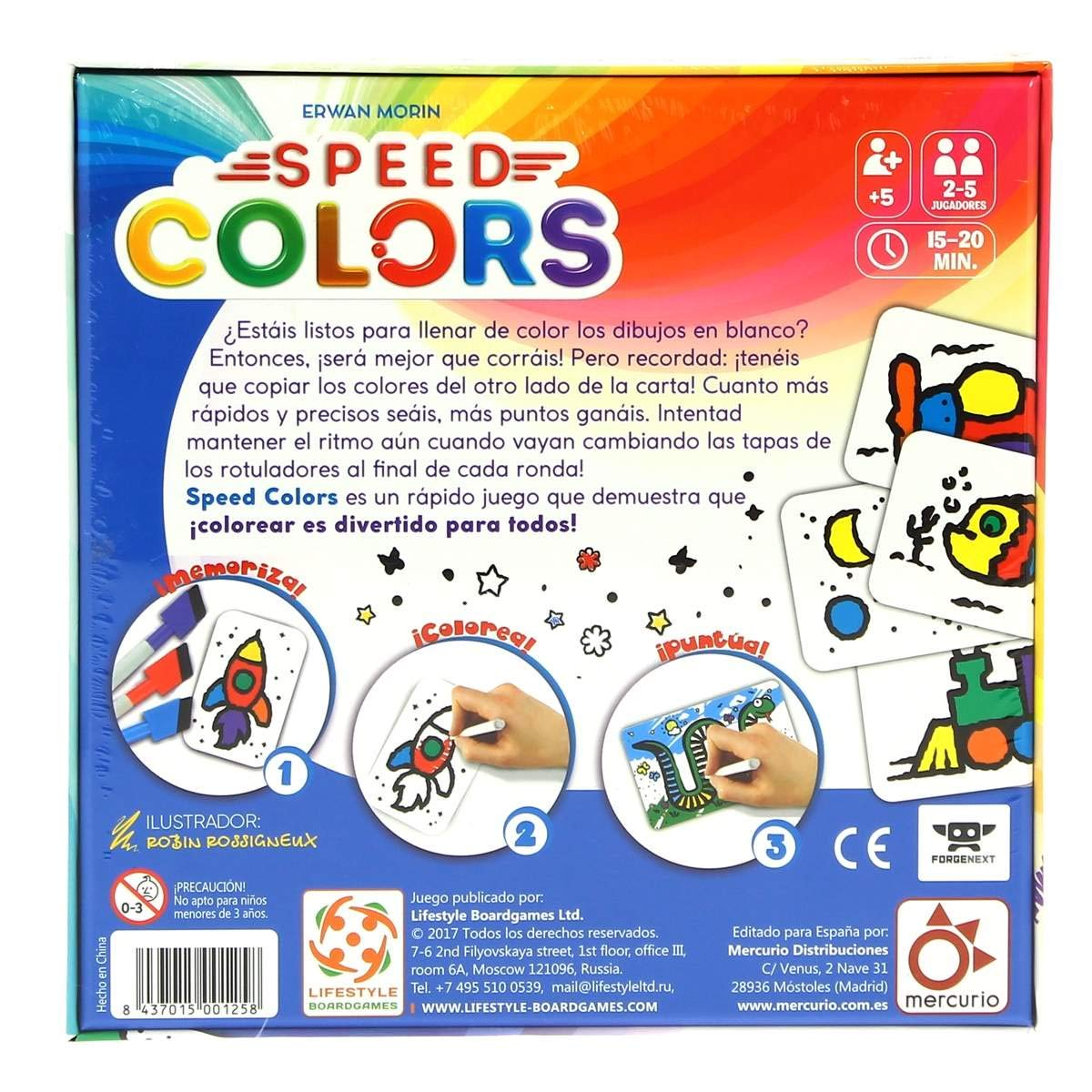 SPEED COLORS: Amazon.es: Juguetes y juegos