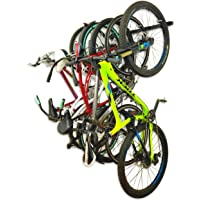 Heavy Duty Metal Bicycle Storage System | Adjustable Bike Wall Hanger Hook System
