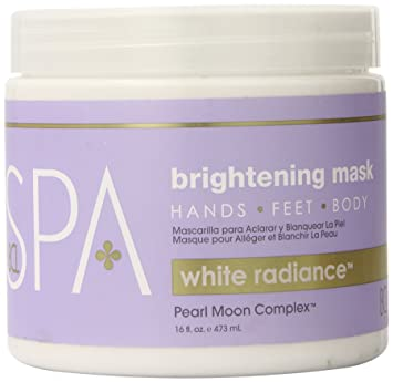 Amazon.com : Bio Creative Lab Spa White Radiance Brightening Mask, 16 Fluid Ounce : Beauty