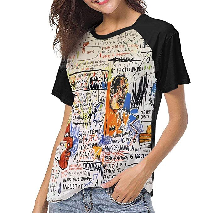 Amazon.com: Jean Michel Basquiat 50 Cent Piece - Camiseta ...
