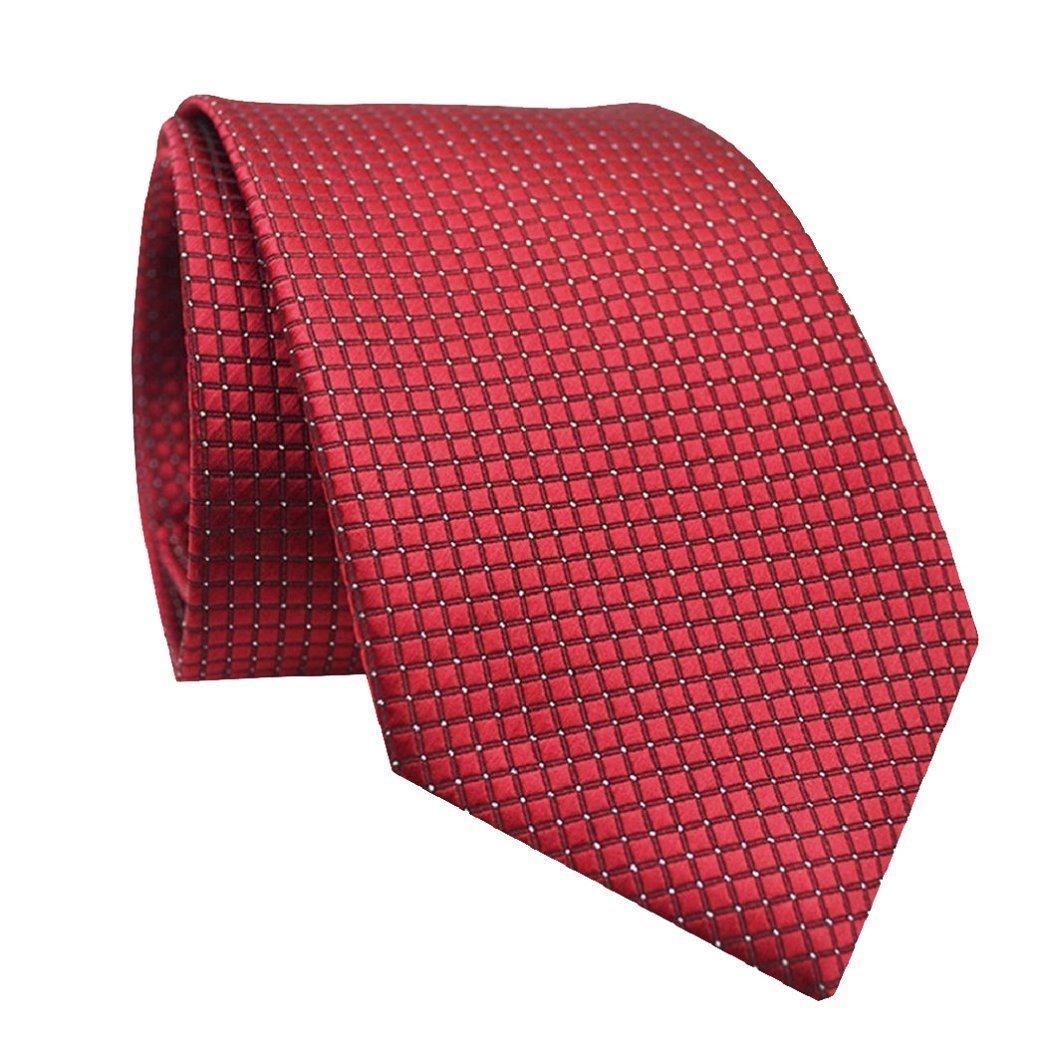 Cheers-online - Corbata - para hombre rojo rojo vino Talla única ...