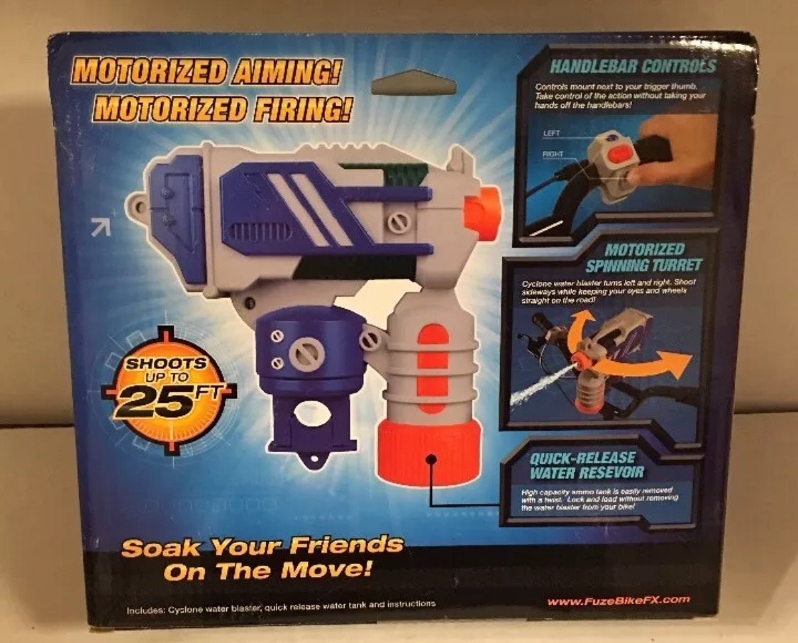 Fuze Cyclone Water Blaster Toys Games