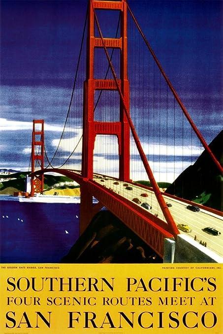 Amazon com: Buyartforless Great Vintage Travel Poster  24