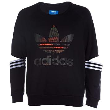 adidas Cut out Sudadera con Cortes para Mujer, Mujer, Sweatshirt Cut out, Negro, 34: Amazon.es: Deportes y aire libre