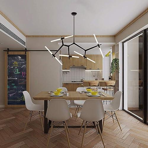 Weesalife DIY Modern Chandelier 10-Light