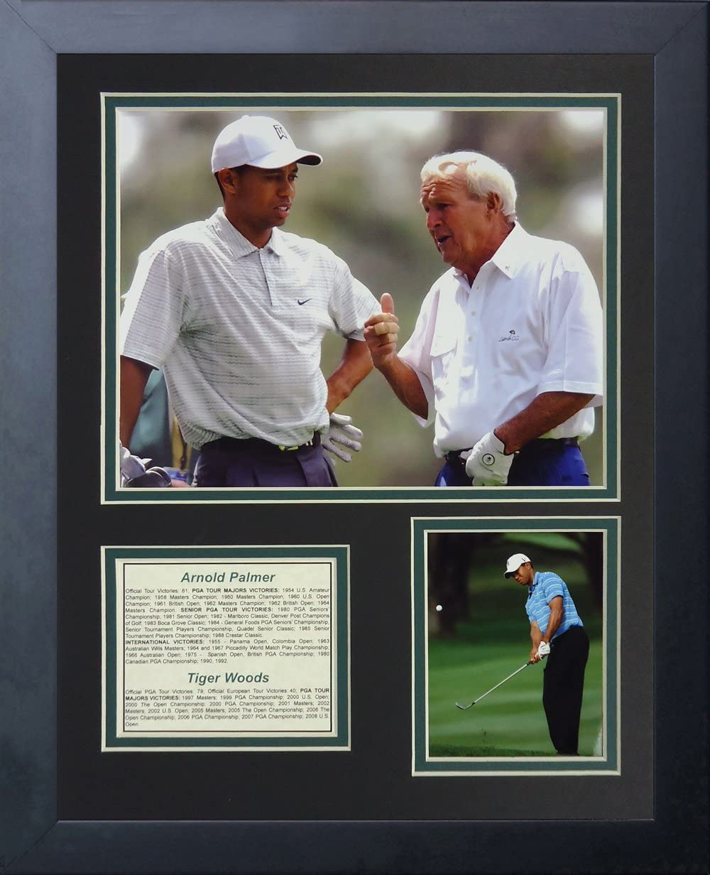Arnold Palmer and Tiger Woods 11