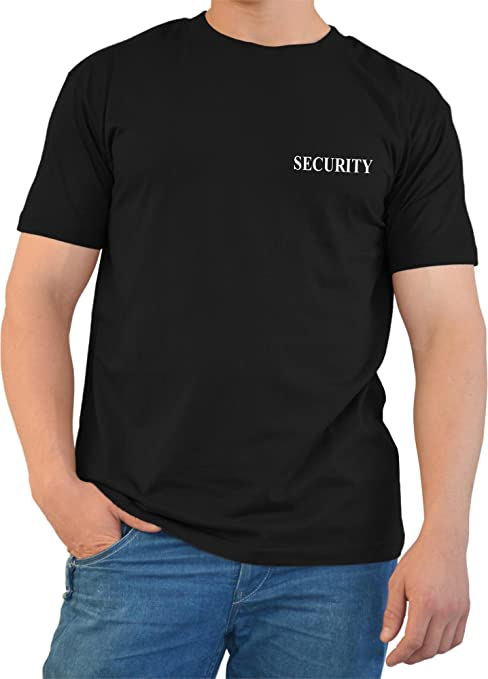 T-Shirt impresos en negro con SWAT, security, Police o el FBI ...