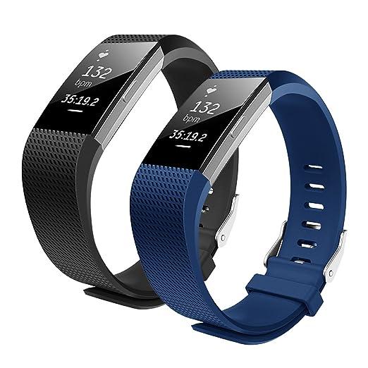 9 opinioni per Bepack Fitbit Charge 2 Cinturino, TPU Morbido Silicone Regolabile di Ricambio