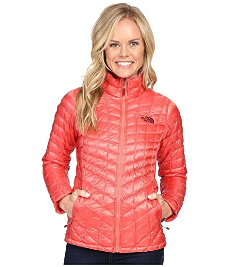 eb81eb2bc Amazon.com: The North Face Thermoball Full Zip Jacket Women's Spiced ...