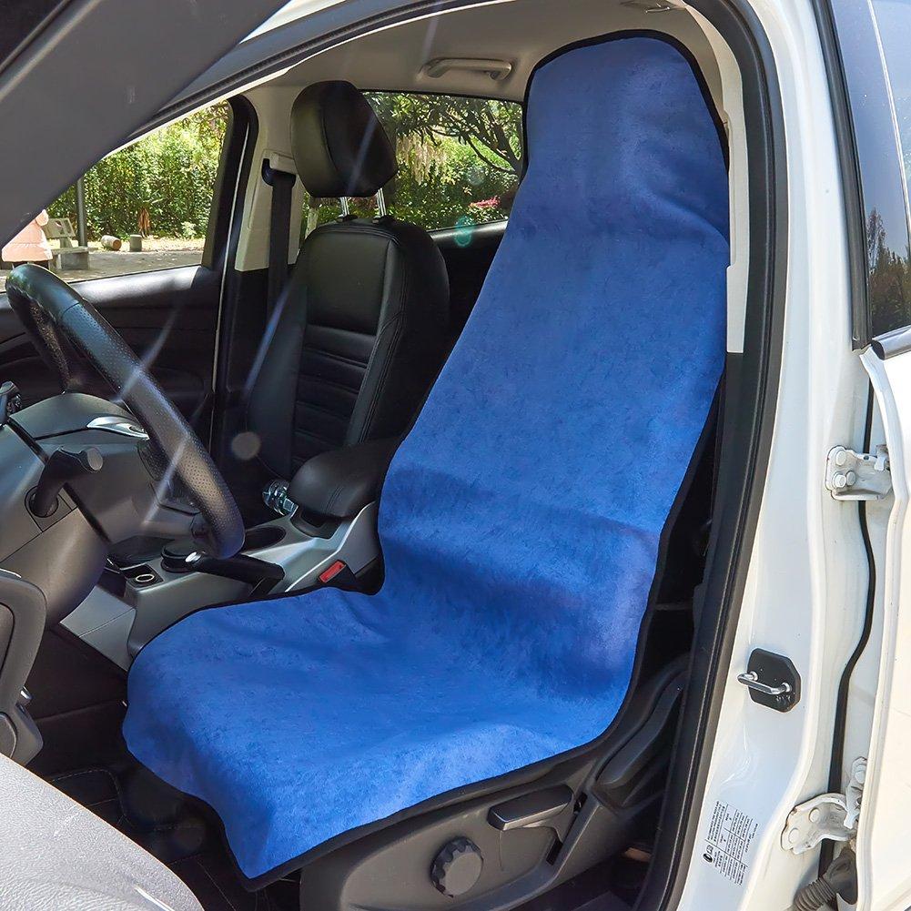 UR URLIFEHALL GRAY Multifunctional Sweat Towel Car Seat Cover Mat For Sport Yoga Gym Swimming Beach Universal Portable Towel Car Seat Protector