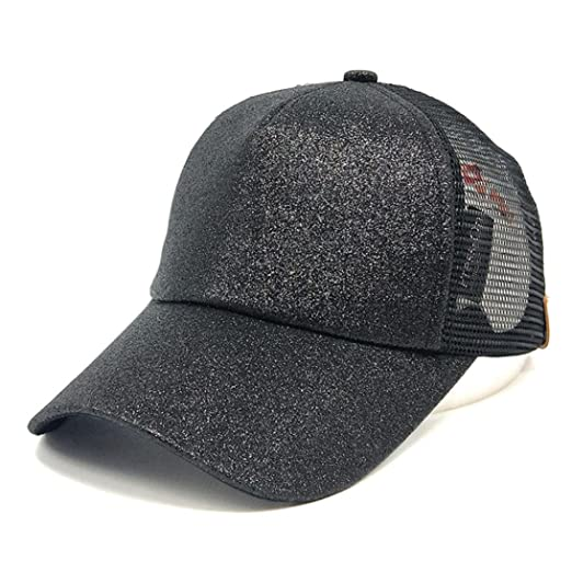 4c09295831e Amazon.com  Women Ponytail Baseball Hat
