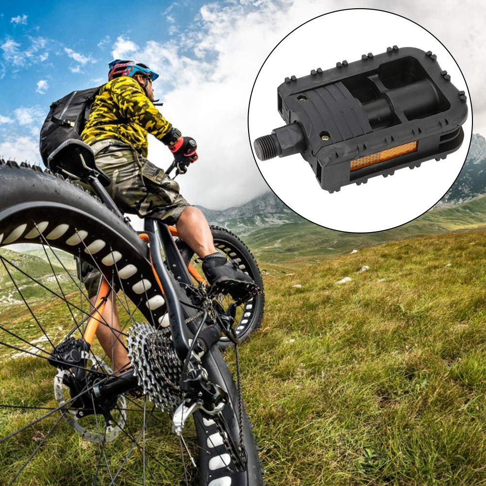 VGEBY1 Pedali Bici Pedali Bici Pieghevoli in plastica Leggera per Accessori Bici da Strada in Montagna