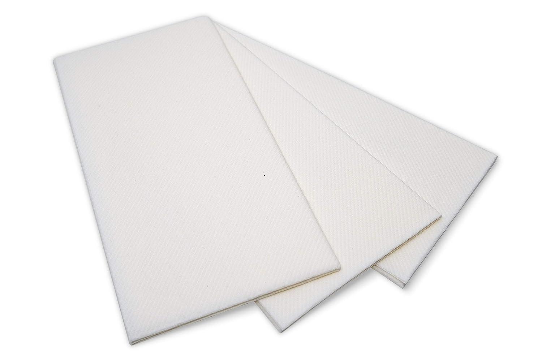 Airlaid Paper ホワイトディナーナプキン ゲストハンドタオル リネン風 ファンシー ●日本正規品● Lサイズ パーティーなどに 50枚パック 在庫あり B07NBZDN44 誕生日 結婚式 使い捨て可能