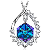 SIVERY Birthday Gifts 'Magic Of Love' Pendant Necklace With Cubic Swarovski Crystal, Jewelry For Women Gifts for Mom
