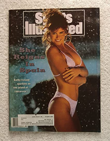 73f010e199cc4 Swimsuit Issue - She Reigns in Spain - Kathy Ireland sparkles on the island  of Lanzarote - Sports Illustrated - March 9