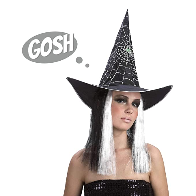 6ad126745bb Amazon.com  United States of Oh My Gosh Halloween Witches Webbed Hat ...
