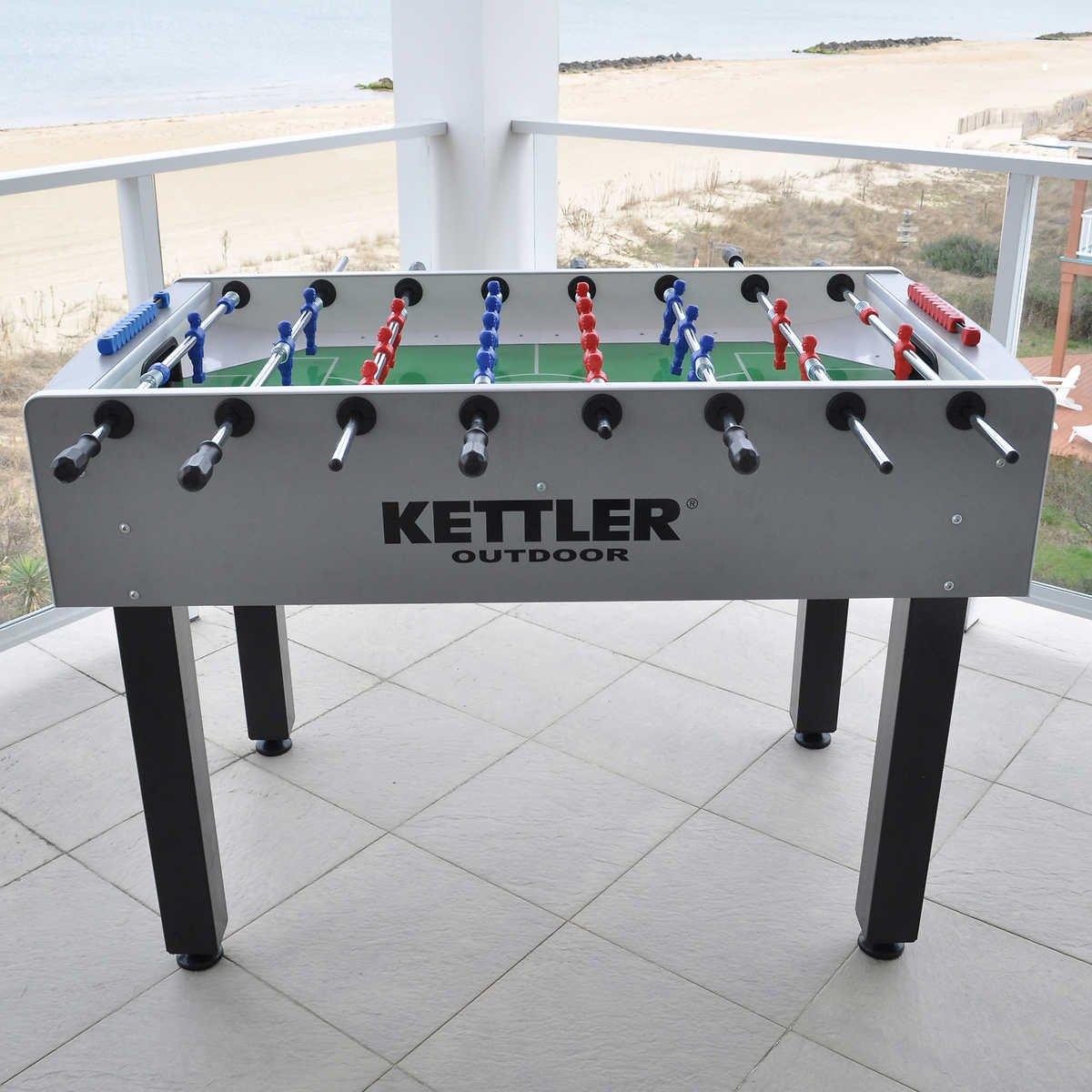 Kettler Carbon Foosball Outdoor Table